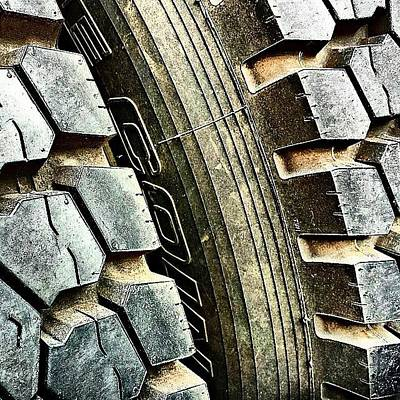 Hollywood Photograph - Optimus Prime's Tyres. #movies by Jason Michael Roust