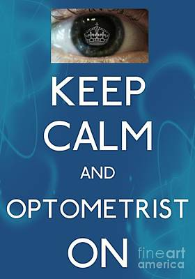 Carry On Art Photograph - Optometrist by Daryl Macintyre