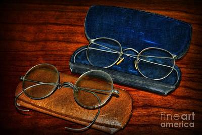 Optometrist - Which Pair Art Print by Paul Ward