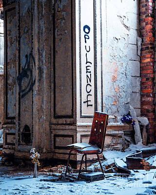 Photograph - Opulence by Anne Raczkowski