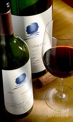 Decanter Photograph - Opus With Friends by Jon Neidert
