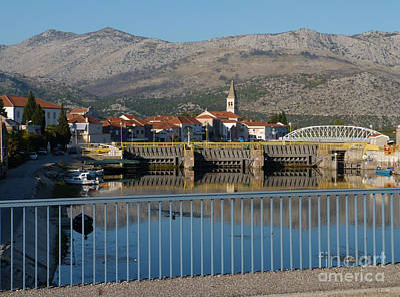 Photograph - Opuzen - Croatia by Phil Banks