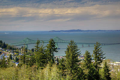 Or, Astoria, Astoria Megler Bridge Art Print