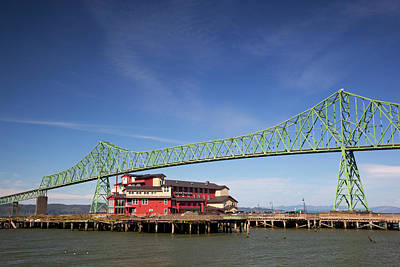 Or, Astoria, Astoria-melger Bridge Art Print