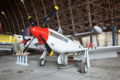 P-51 Photograph - Or, Tillamook, Tillamook Air Museum by Jamie and Judy Wild