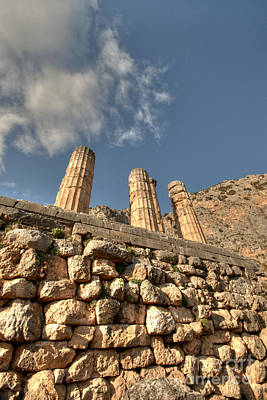 Photograph - Oracle At Delphi 4 by Deborah Smolinske
