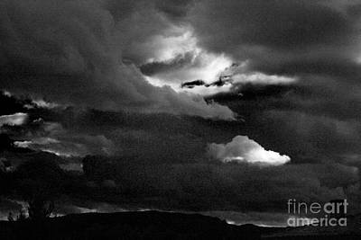 Photograph - Orage lumineux by Morgan Veissiere