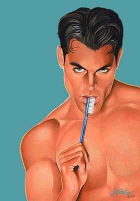 Oral Hygiene Art Print