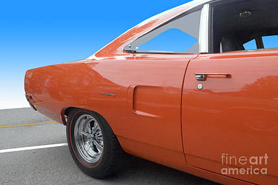 Photograph - Orange 2 Door by Bill Thomson