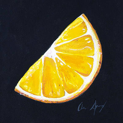 Painting - Orange by Aaron Spong