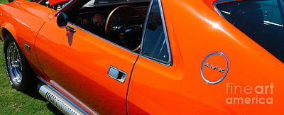 Photograph - Orange Amx by Mark Spearman