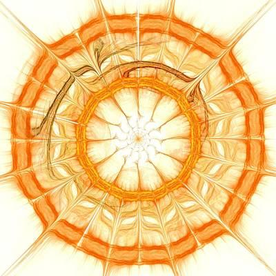 Orange Art Print by Anastasiya Malakhova