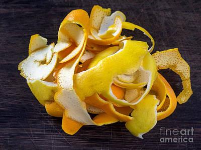 Grate Photograph - Orange And Lemon Zest by Frank Bach