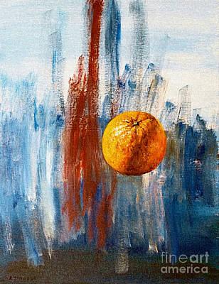 Orange Art Print by Arturas Slapsys