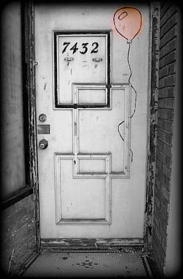 Urban Art Door  Art Print