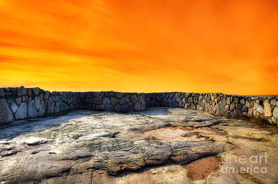 Photograph - Orange Blaze by Rick Kuperberg Sr