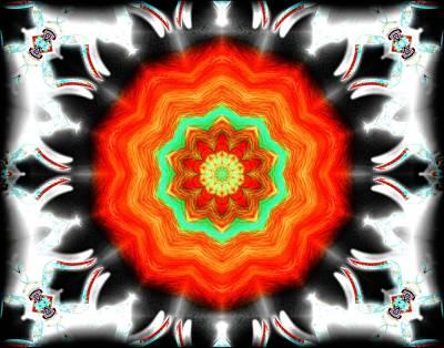 Digital Art - Orange Blossom  by Michael Damiani