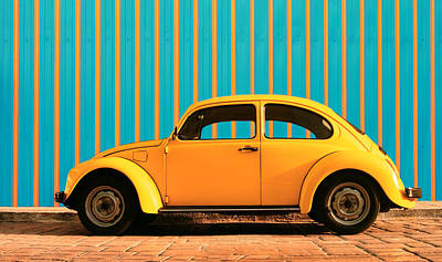 Lovers Digital Art - Orange Bug by Laura Fasulo