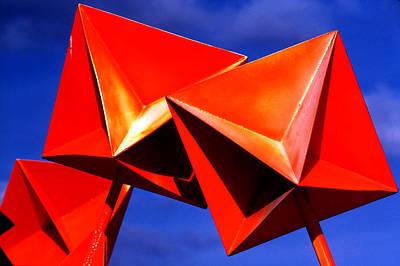 Photograph - Orange Buoys by Robert  Rodvik