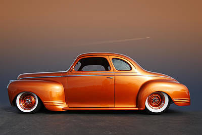 Photograph - Orange Coupe by Bill Dutting