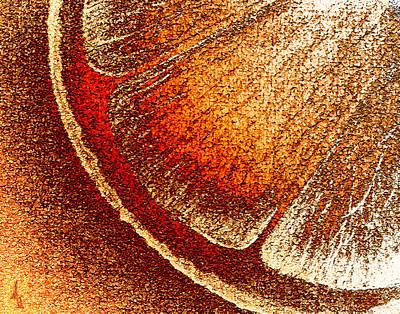 Orange Crush Art Print by Michelle Rene Goodhew