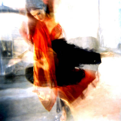 Photograph - Orange Dancer 1 by Ann Tracy