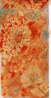 Orange Fantasia Art Print by Anne-Elizabeth Whiteway