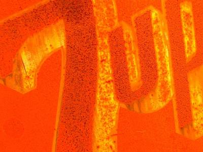Seven-up Sign Photograph - Orange-flavored 7-up by Michael Jewel Haley