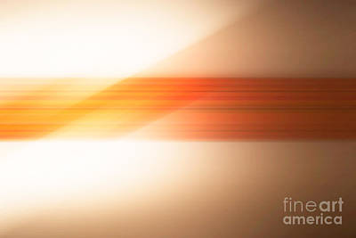 orange I Art Print by Hannes Cmarits