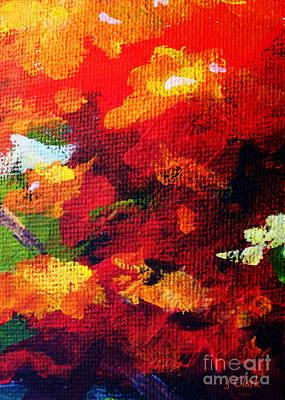 Mondrian Painting - Orange by John Clark