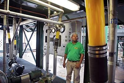 Belize Photograph - Orange Juice Production by Jim West
