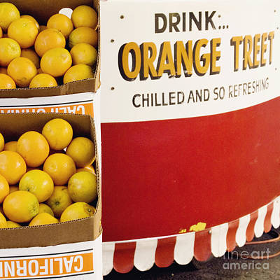 Photograph - Orange Juice Stand by Cindy Garber Iverson
