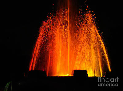 Photograph - Orange Lava by Clayton Bruster