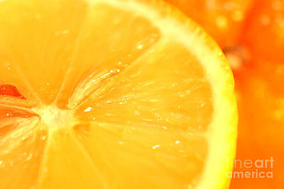 Juicy Photograph - Orange by Michal Bednarek