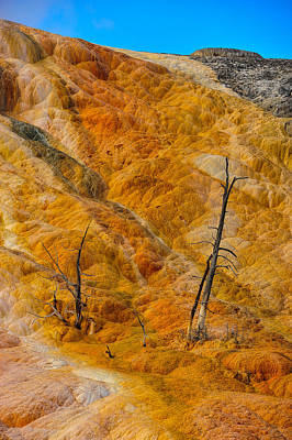 Photograph - Orange Mountain by Harry Spitz