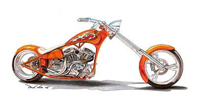 Orange N Tangy Art Print by Paul Kim