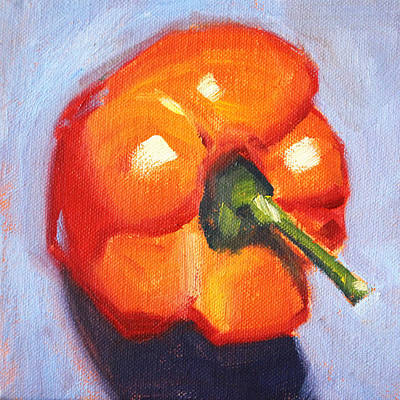 Orange Pepper Still Life Original