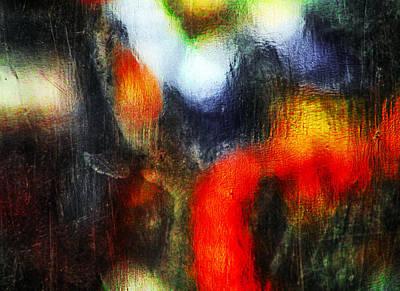 Color Stretching Digital Art - Orange by Prakash Ghai