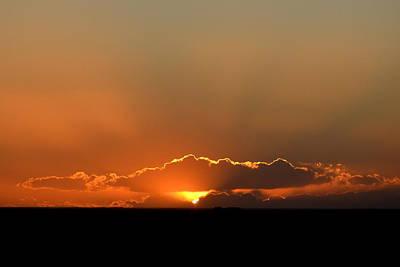 Photograph - Orange Rays by Clarice  Lakota