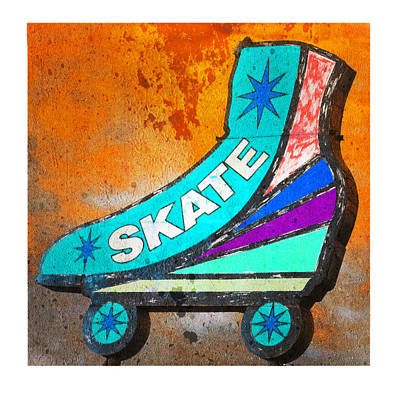 Photograph - Orange Skate by Gail Lawnicki