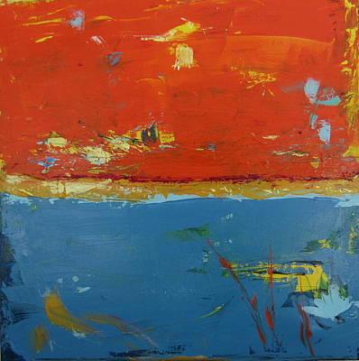 Orange Sky 2 Art Print