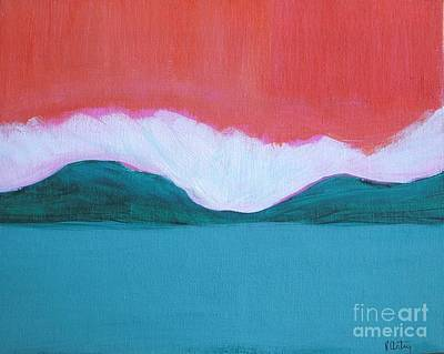 Wall Art - Painting - Summer Time by Vesna Antic