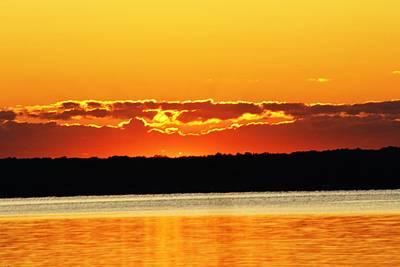Photograph - Orange Skys by Al Fritz
