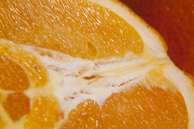 Photograph - Orange Slice by Michael Dorn