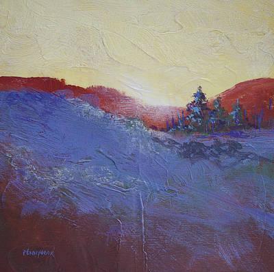Painting - Orange Stripe by Bob Pennycook
