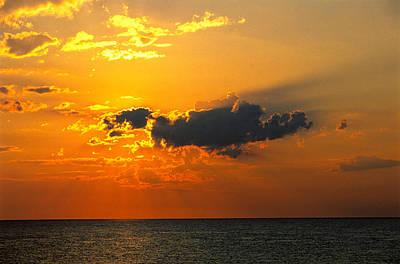 Photograph - Orange Sunrise by Jeremy Herman