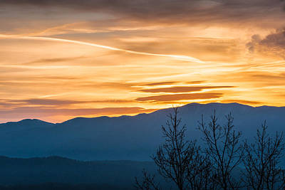 Photograph - Smoky Mountain Sunrise 3 by Victor Culpepper