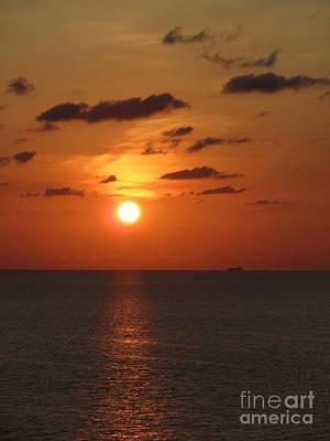 Orange Sunset IIi Original