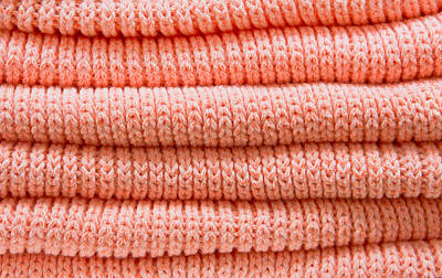 Orange Sweaters Art Print by Tom Gowanlock