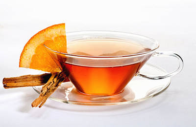 Photograph - Orange Tea 5528 by Matthew Pace